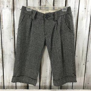Anthropologie Nick & Mo shorts wool blend
